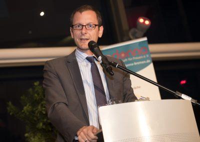 Martin Günthner, Senator für Wirtschaft, Arbeit und Häfen bei der Preisverleihung 2016