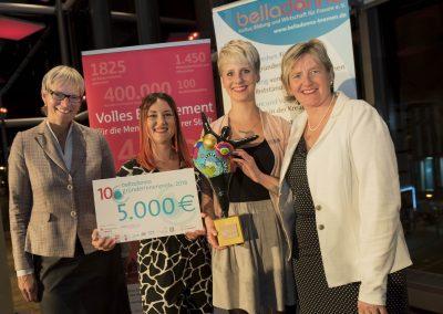 belladonna Gründerinnenpreisträgerinnen 2016, Miriam Engelhardt und Lisa Hardtke, UBEO