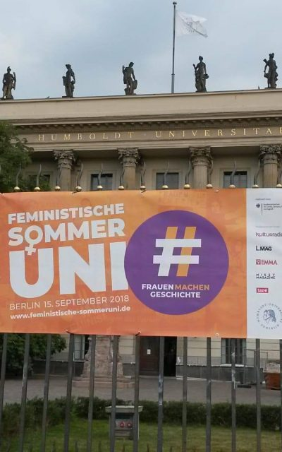 Online-Gang des Digitalen Deutschen Frauenarchivs & Feministische Sommeruni 2018
