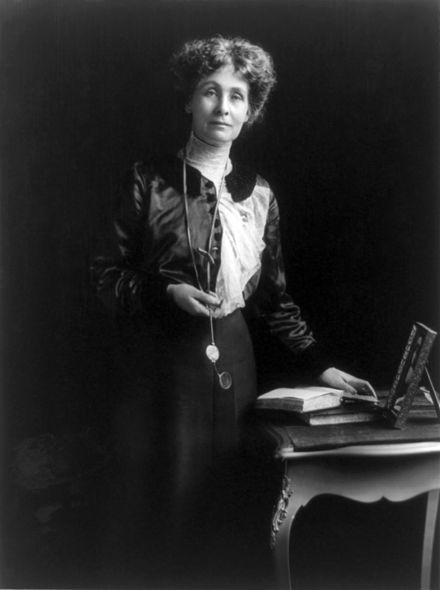 Historische Frau des Monats Februar 2016: Emmeline Pankhurst