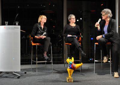 Podiumsdiskussion im Anschluss an die Preisverleihung 2012