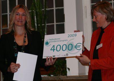 belladonna Gründerinnenpreisträgerin 2009, Nuroma Padeffke, nuroma Make-up. Styling. Models.