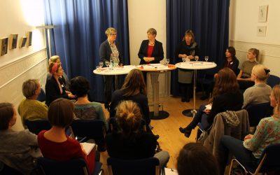 Forum für Gründerinnen und Unternehmerinnen: Netze knüpfen + 2018