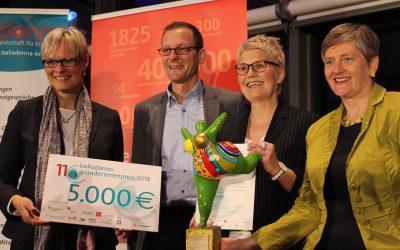 belladonna Gründerinnenpreis 2018