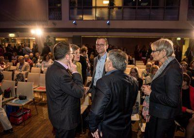 Maren Bock im Gespräch vor der Preisverleihung