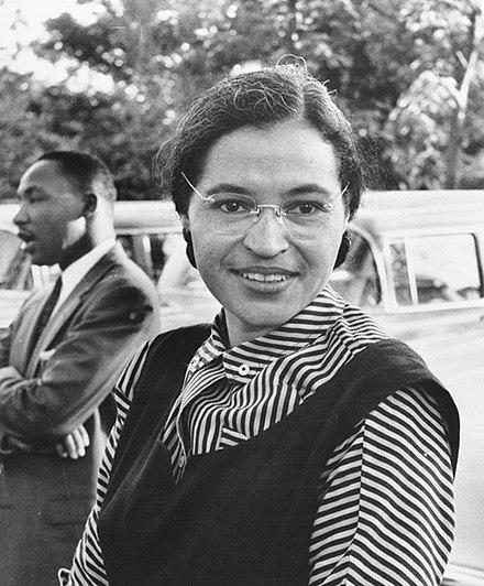 Historische Frau des Monats Mai 2018: Rosa Parks