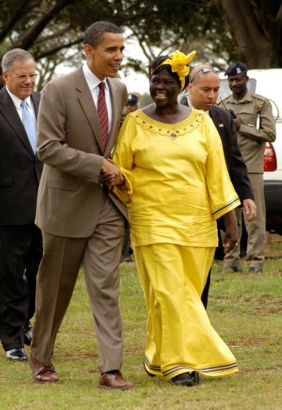 Historische Frau des Monats Juni 2018: Wangari Maathai