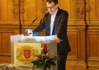Grußwort von Staatsrat Jan Fries (in Vertretung für Senatorin Anja Stahmann)