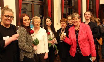 Festakt: belladonna ist Bremer Frau(eninstitution) des Jahres 2019!