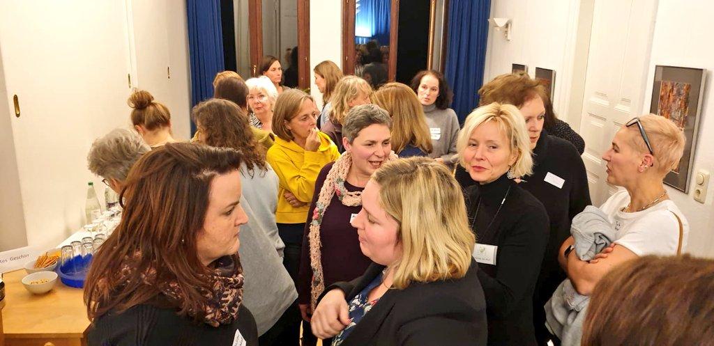 Forum für Gründerinnen und Unternehmerinnen: Netze knüpfen + 2019