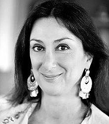 Frau des Monats Oktober 2020: Daphne Caruana Galizia